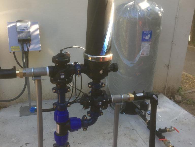 Station de filtration eau automatique, fonction auto-nettoyage performante