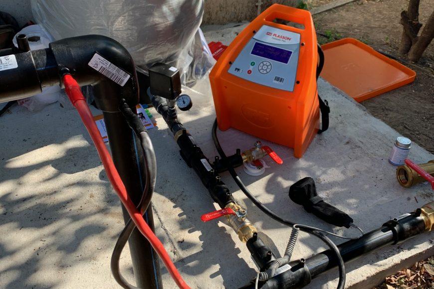 La société MMPI SERVICES s'est équipée d'une machine électro soudable!