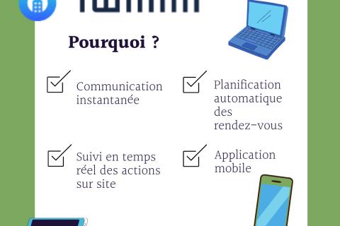 🏃♂️💨En route pour la digitalisation !💻📱